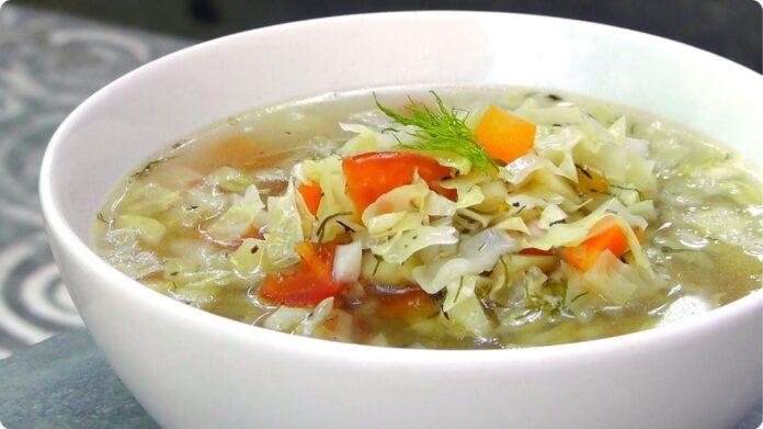 súp bắp cải