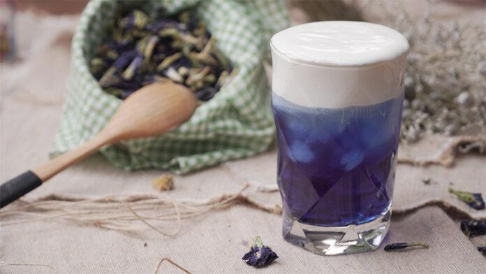 Trà Sữa Macchiato Hoa Đậu Biếc