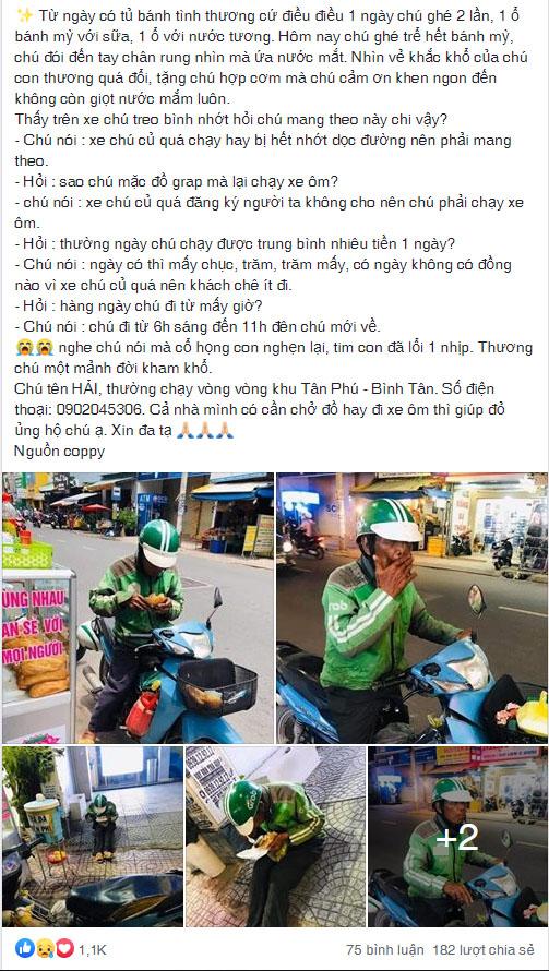 Chân dung cô gái Sài Gòn mua xe máy và điện thoại mới cho chú xe ôm - Ảnh 2