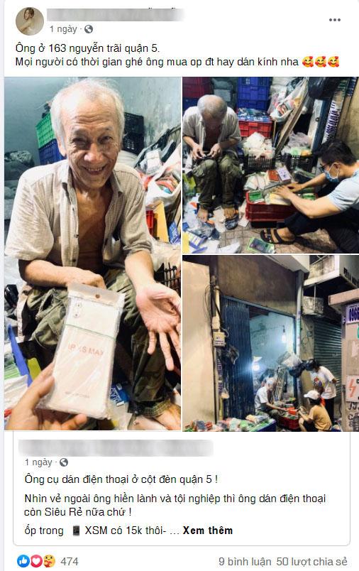 Chân dung cô gái Sài Gòn mua xe máy và điện thoại mới cho chú xe ôm - Ảnh 9