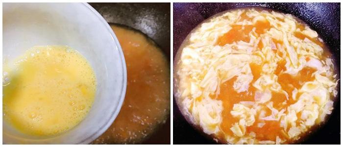 Mẹo nấu canh trứng không tanh, thơm lừng, nổi vân hấp dẫn - Ảnh 3.