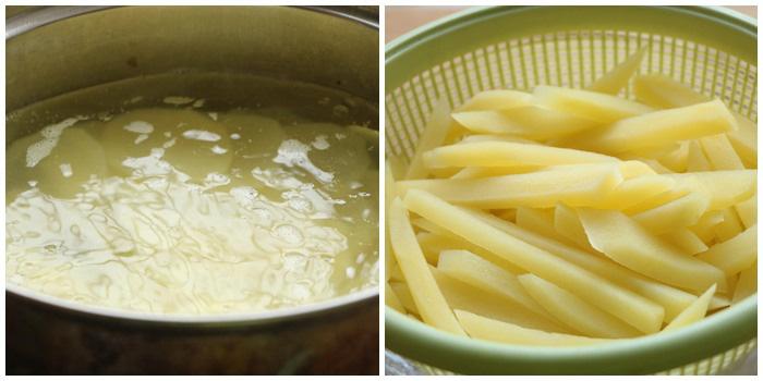 Mẹo làm khoai tây chiên ngoài giòn, trong mềm, vàng ươm, thơm phức - Ảnh 2.