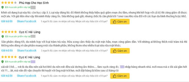 """4 sữa rửa mặt Việt Nam đúng chuẩn ngon bổ rẻ, xem xong loạt review từ người dùng thì ai cũng muốn """"múc"""" ngay một em - Ảnh 7"""
