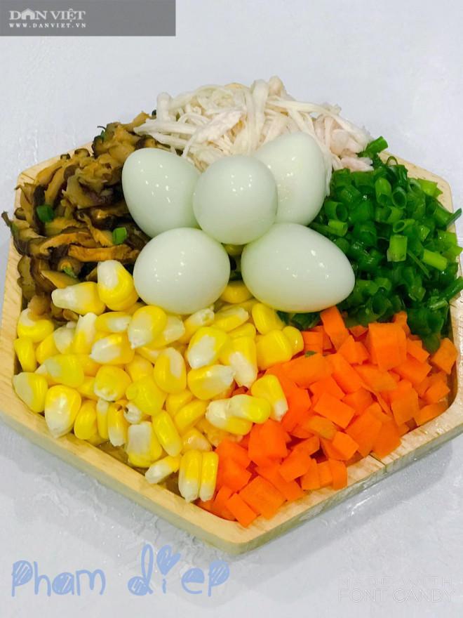 Bày cách nấu súp gà rau củ quả bổ dưỡng thơm ngon - 1