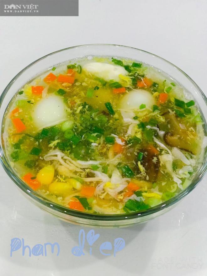 Bày cách nấu súp gà rau củ quả bổ dưỡng thơm ngon - 3