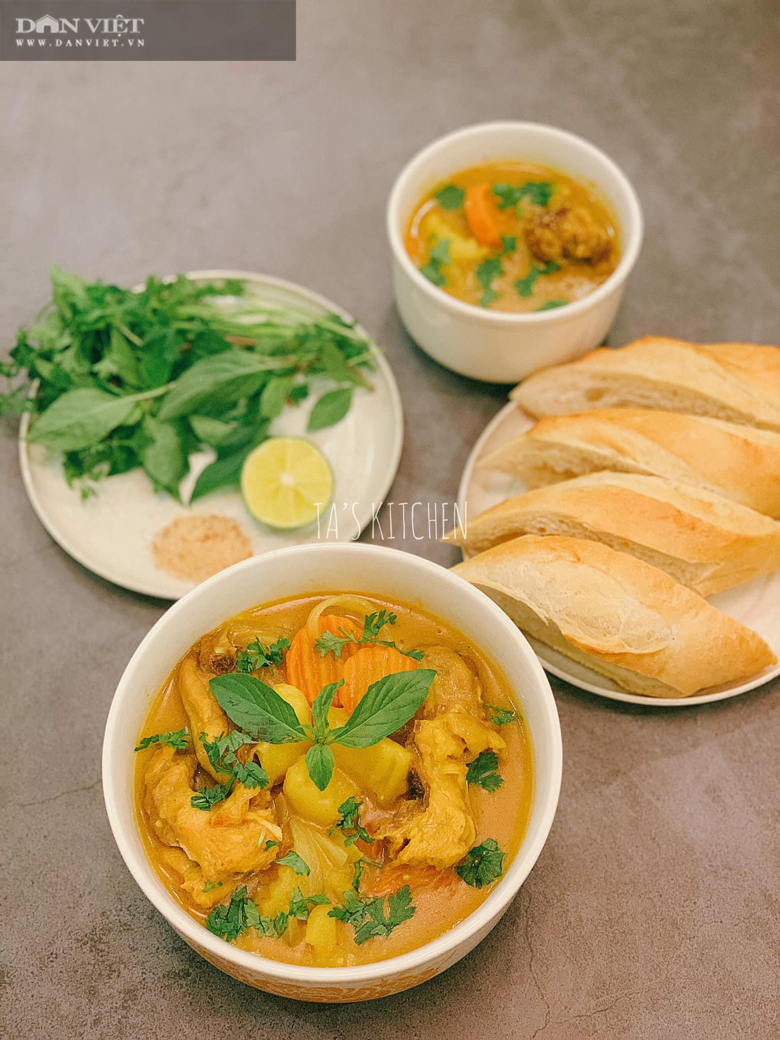 Nấu cà ri gà đổi món cho gia đình vào những ngày gió mùa về - Ảnh 2.
