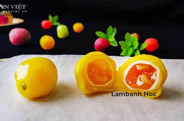 Tự làm bánh trung thu dẻo hình trái cây đẹp bắt mắt - Ảnh 1.